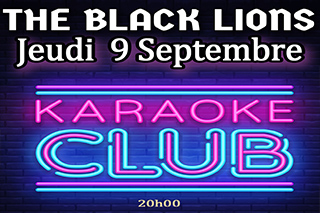 Karaoké Jeudi 9 Septembre Pub Black Lions Gap